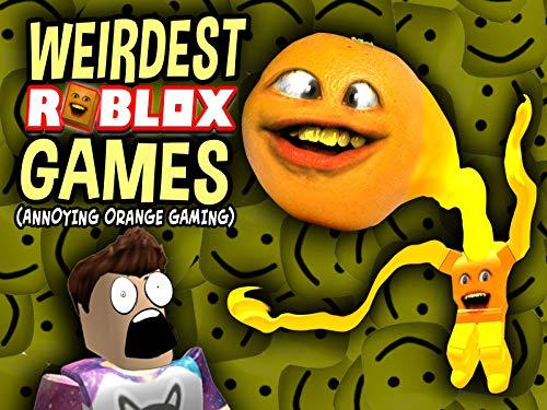 Clip: Weirdest Roblox Games (Annoying Orange Gaming)