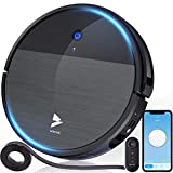 Hosome Robot Vacuum Cleaner Sweep and Mop Cleaning 1900Pa, Super-Thin Wi-Fi Robotic Vacuum