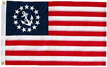 product image for U.S. Yacht Ensign Flag 3X5 Foot Nylon