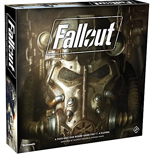 Fallout The Board Game (Base) | Strategy Board Game |...