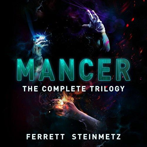 Mancer Trilogy audiobook cover art