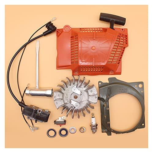 Ajuste perfecto Kit de herramientas de arranque de retroceso de bobina de encendido volante de encendido para H-USQVARNA 365 371 372 362 CAMINOS DE MADRADA DE GASOLINA Buena resistencia a la abrasión
