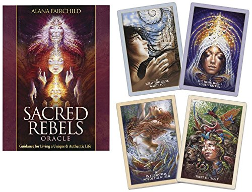 Download Sacred Rebels Oracle: Guidance for Living a Unique & Authentic Life 0738745774