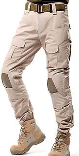 Pantalones estilo militar sin cintur/ón Reebow Gear para hombre