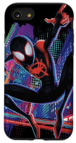 iPhone SE (2020) / 7 / 8 Marvel Spider-Man Into the Spider-Verse Miles Morales City Case