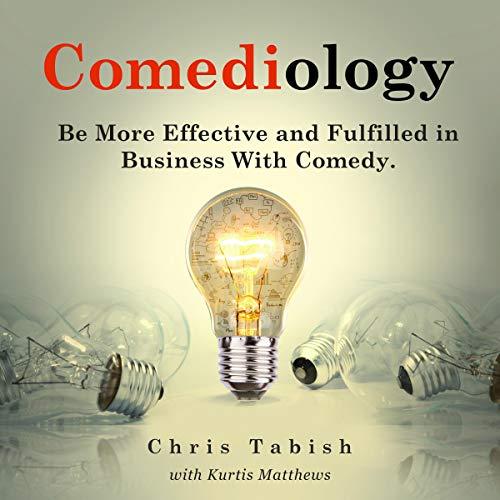 Comediology audiobook cover art