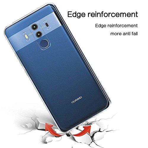 TopACE Hülle für Huawei Mate 10 Pro, TPU Hülle Schutzhülle Crystal Case Durchsichtig Klar Silikon transparent für Huawei Mate 10 Pro (Transparent) - 6