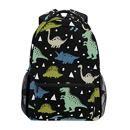 Backpack Cute Dinosaur Black Animal Cartoon Casual Student Travel Laptop Daypack Gift Book School Bag College...