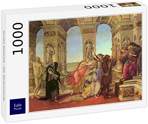 Lais Puzzle Sandro Botticelli - La Calumnia 1000 Piezas