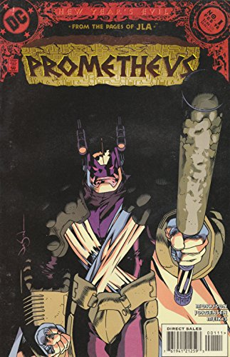 Prometheus Comic # 1 - (Villains) DC Comics - February 1998