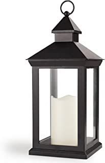 Best black lantern with led candle Reviews