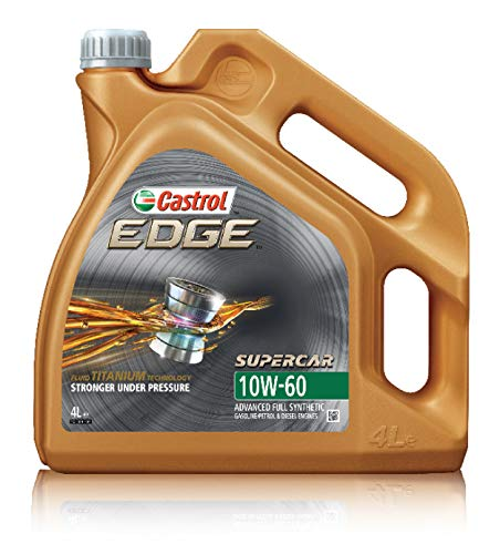 Castrol 15A005 Edge 10W-60 Supercar Aceite de Motor, 4 litros, 4 L