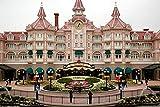 Puzzles para Adultos niños 1000 Piezas, France Hotel Disneyland Paris Cities,29.5'x19.7'