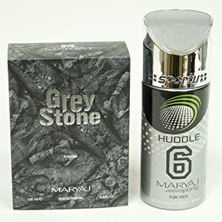 MARYAJ Grey Stone Gift Set For Men (Edp 100 ml + Deo Spray 150 ml)