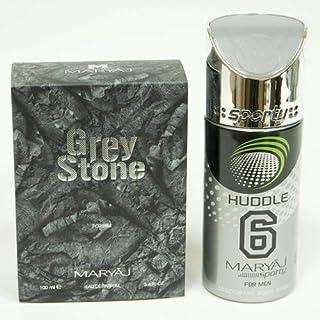MARYAJ Grey Stone Gift Set For Men (Edp 100 ml + Deo Spray 150 ml)