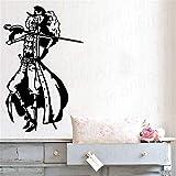 Vinilo Tatuajes de Pared Pirata decoración del hogar niño Dormitorio decoración capitán Pegatinas de Pared para niños