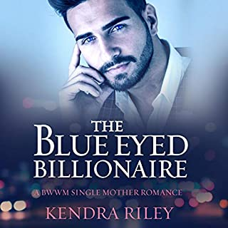 The Blue Eyed Billionaire audiobook cover art