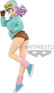 Banpresto Dragonball Glitter & Glamours Bulma II Special Color Green Statue Figurine