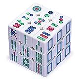 Yellow Mountain Imports Stickerless Mahjong Magic Puzzle Cube