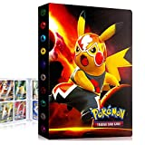 Album Pokemon, Album Pokemon Cartas, Álbum de Cartas coleccionables de Pokémon, Carpeta de Pokémon, Album Cartas Pokemon Tag GX EX, Capacidad para 30 páginas 240 Cartas (GF Pikachu)