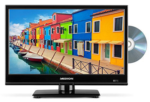 MEDION Life P12308 39,6 cm (15,6 Zoll) Fernseher (HD, Triple Tuner, DVD-Player, LCD-TV)