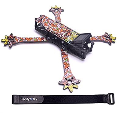 Readytosky 235mm FPV Racing Drone Frame 3k Full Carbon Fiber Quadcopter Frame Kit/4mm Removable Arms