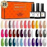Best Gel Polish Kits - Gel Nail Polish 36 Pcs Colors Fall Holiday Review