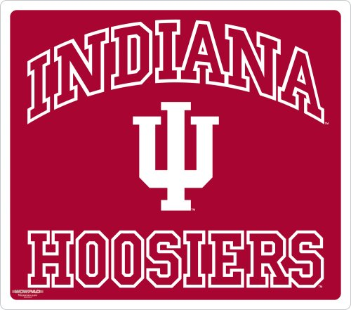 Wow!Pad 78WC017 Indiana Collegiate Logo Desktop Mouse Pad