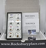 Space Collection 2020: Eight Meteorites Around The World, Mars Rock, Moon Rock