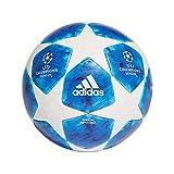 Adidas Finale 18 - Balón de fútbol Oficial para Hombre, Color Blanco, Fooblu/Brcyan, 5
