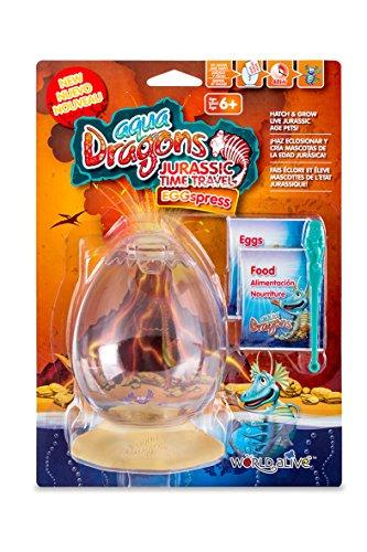 Aqua Dragons- Viaje EGGspress al Periodo Jurásico Juguete educativo, Multicolor (World Alive 4005) , color/modelo surtido