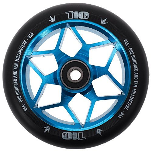 Blunt Rueda para patinete de acrobacias Diamond 110 mm (Teal/PU negro)