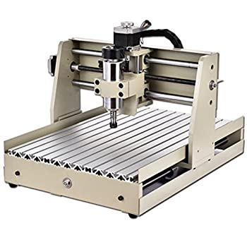 Power Milling Machines by CNCEST,400W CNC Router Engraver Engraving Cutting 4 AXIS 3040 300X400MM Machine Milling Drilling Milling Machine
