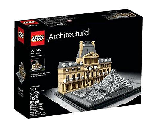 LEGO Architecture Louvre 695pieza(s) juego de construcción - juegos de construcción (Multicolor, 12 año(s), 695 pieza(s), 17 cm, 19 cm, 13 cm)