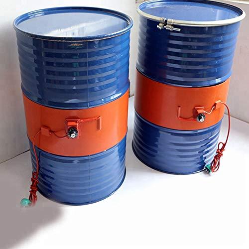 Q&Z ÖLfass-Heizung 53 Gallonen / 200 Liter Gallon Isolierte Eimer Heizung Isolierte Eimerheizung Silizium Metall ÖLfassheizung Einstellbarer Rotationsthermostat