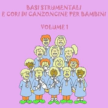 Basi strumentali e cori di canzoncine per bambini, vol.1