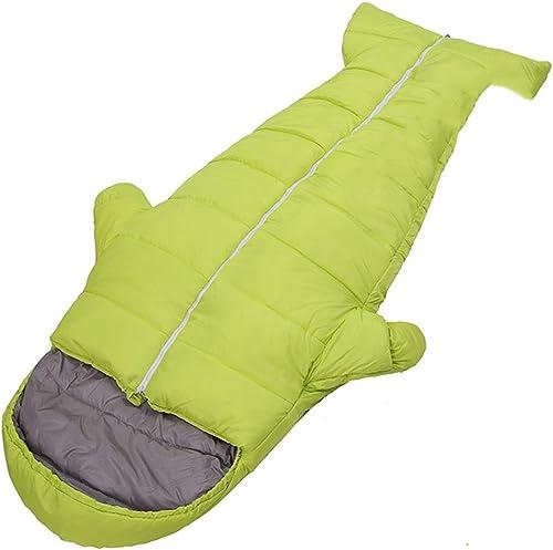 DZW Sac de couchage en plein air, bas sac de couchage en coton épaississement adulte sac de couchage intérieur chaud en plein air camping hiver isolation anti-coup était,Bonne perméabilité à l'air