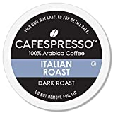CAFESPRESSO Italian Roast Blend for K Cup Keurig 2.0 Brewers, 80Count, Dark Roast Single Serve Coffee Pods, 80Count (Packaging May Vary)
