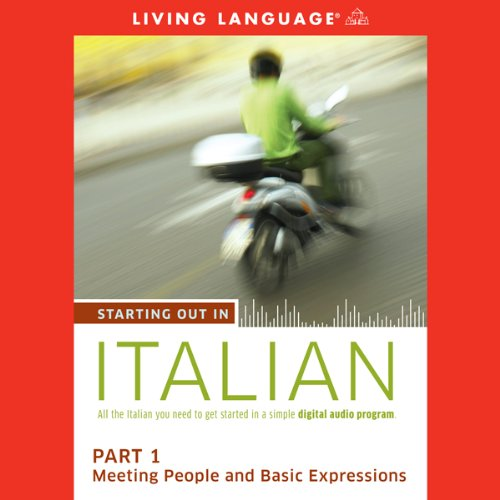 Starting Out in Italian, Part 1 audiobook cover art