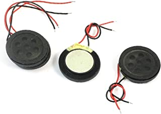 4 Pcs Featured 1W 8 Ohm 2-Wired Round reliable efficacy Magnet Type fine workmanship Speaker Audio Amplifier Loundspeaker Trumpet for Mobile p-h-o-n-e MP3 MP4 Player
