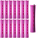 60 Pieces Hair Perm Rods Plastic Cold Wave Rods Hair Curling Roller...