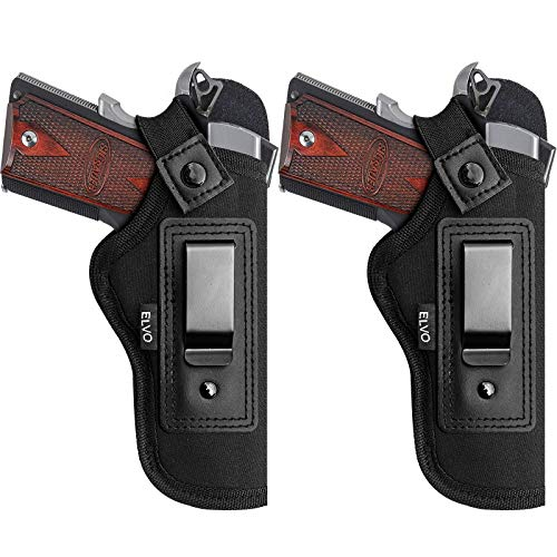 1911 IWB Holster for Inside The Waist Band Concealed Carry Fits:1911 Pistols 5' & 4' Barrel Sig Sauer Springfield Armory Colt Taurus S&W Remington 1911 R1