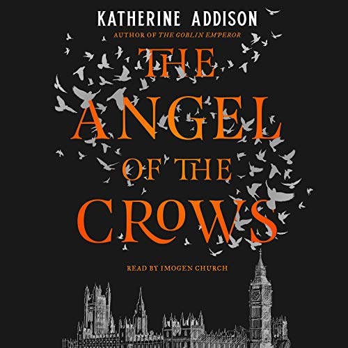 The Angel of the Crows audiobook cover art