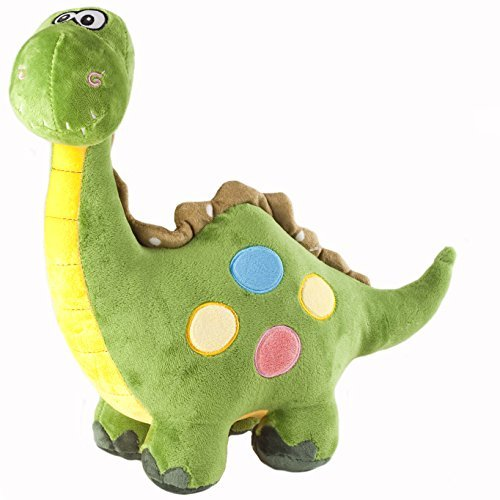 Marsjoy 16' Green Stuffed Dinosaur Plush Stuffed Animal Toy for Baby Gifts Kid...