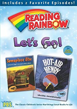 DVD Reading Rainbow: Let's Go! Book