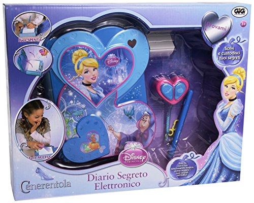 Giochi Preziosi ncr01787Tagebuch elektronisch Cinderella