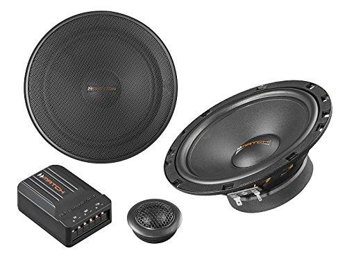 Helix Match Lautsprecher MS62C 300 Watt 16,5cm Kompo incl Einbauset für VW Up AA/AAN ab 2011