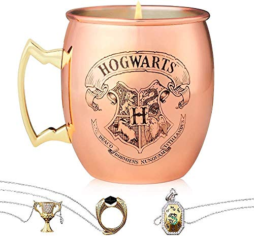 Charmed Aroma Harry Potter Copper Mug Candle, 925 Sterling Silver...