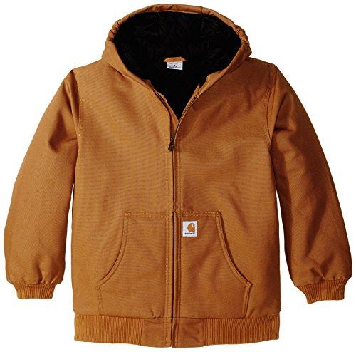 Carhartt Little Boys' Toddler Active Jacket, Carhartt Brown, 2T