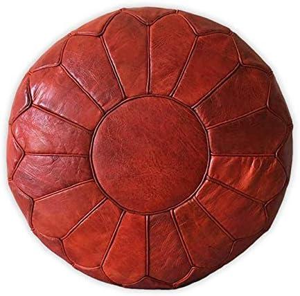 Quantity limited Popular Moroccan Craft House Ottoman Pouf Leather Pou Premium